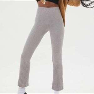 UO Ribbed Flare Pants